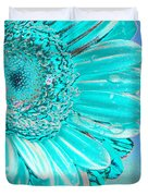 Ice Blue Duvet Cover