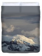 Ice-capped Mountains Anvers Island Duvet Cover
