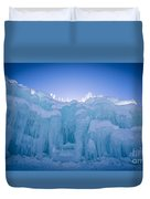Ice Castle Duvet Cover