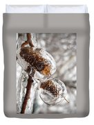 Ice Cocoons I Duvet Cover