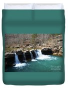 Ice Cold Beauty Duvet Cover