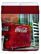 Ice Cold Coca Cola Duvet Cover