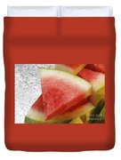 Ice Cold Watermelon Slices 1 Duvet Cover