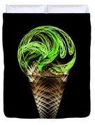 Ice Cream Cones 5 Flavors Duvet Cover