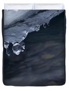 Ice Drop Duvet Cover