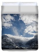 Ice Field Parkway Duvet Cover