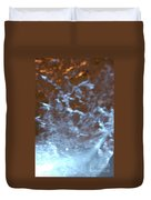 Ice Fire By Jammer Duvet Cover