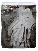 Ice Flow 7 Duvet Cover