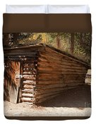 Ice House At The Holzwarth Historic Site Duvet Cover