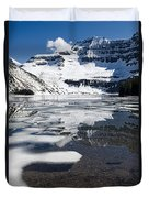 Ice In The Water Duvet Cover