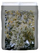 Ice Needles Duvet Cover