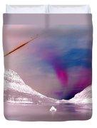 Ice Planet Duvet Cover