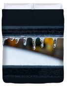 Ice Teeth On Colors Duvet Cover