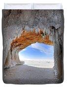 Ice Tunnel Duvet Cover