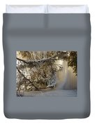 Ice Wall Duvet Cover