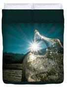 Ice With Sunburst Duvet Cover
