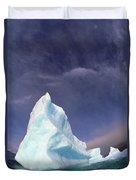 Iceberg Adrift Near South Orkney Duvet Cover