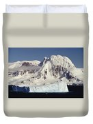 Icebergs Northern Tip Of The Antarctic Duvet Cover