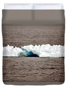 Iceburg With Passenger Duvet Cover