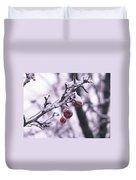 Iced Berries Duvet Cover