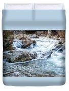 Iced Creek Duvet Cover