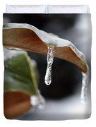 Iced Magnolia Duvet Cover