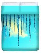 Iced Sky Duvet Cover