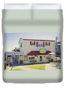 Icehouse Waterfront Restaurant 1 Duvet Cover
