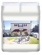 Icehouse Waterfront Restaurant 3 Duvet Cover