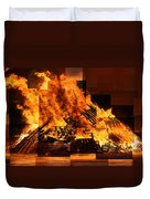 Iceland Bonfire Duvet Cover