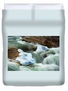 Icicle Creek Duvet Cover