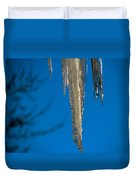 Icicles 1 Duvet Cover