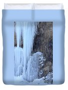 Icicles Duvet Cover