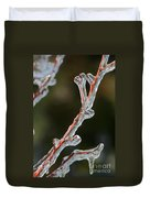 Icy Branch-7512 Duvet Cover