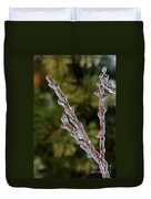 Icy Branch-7520 Duvet Cover