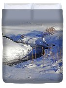 Icy Flow Duvet Cover