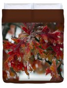 Icy Oak Duvet Cover