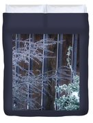 Icy Verticles Duvet Cover