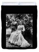 Ida Mckinley (1847-1907) Duvet Cover
