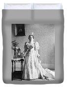 Ida Saxton Mckinley (1847-1907) Duvet Cover