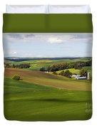 Idaho Farmland Duvet Cover