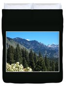 Idaho Mountain Side Duvet Cover