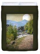 Idaho Springs Paradise Duvet Cover