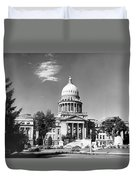 Idaho State Capitol Building Duvet Cover