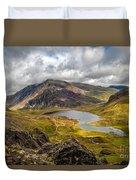 Idwal Lake Snowdonia Duvet Cover