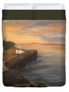 Idyllic Sunset Duvet Cover