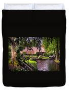 Idyllic Village 14. Venice Of The North Duvet Cover