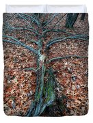 If A Tree Falls In The Woods Duvet Cover