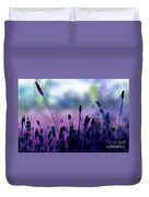 If I Had A Purple Crayon ... Duvet Cover