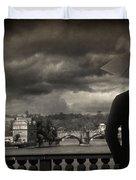 If Duvet Cover by Taylan Apukovska